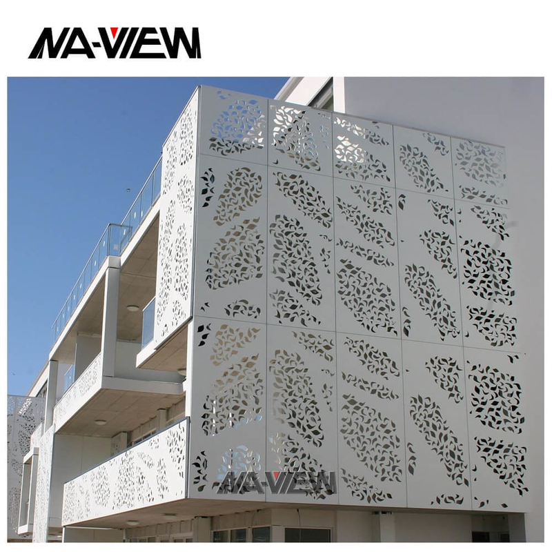 Thickness 0.5mm 40*50mm Aluminum Perforated Acoustic Panels